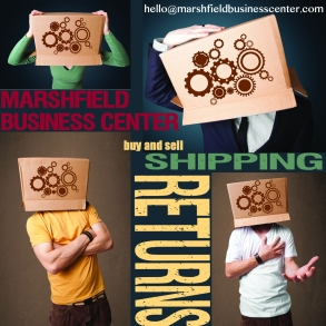 Home Office and Shipping Department for Etsy and eBay needs. #HomeBusiness