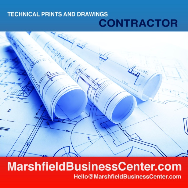 Blueprinting and Engineering Sized Copies - Scan & Print from your files or actual Blueprints and Large Copy Originals