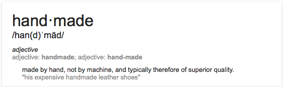 """""""his expensive handmade leather shoes"""""""
