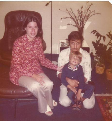 Mom Dad and David